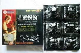 wholesale best original Germany Black Ant male sex capsules (6 pills)