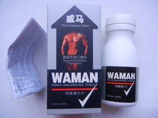 best wholesale original WAMAN male sex capsules(60 pills)