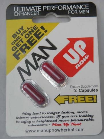 Wholesale Chinese original Man Up male enhancement pills (48 pills)