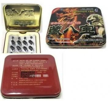 Chinese original Tibet Ba Bao male enhancement capsules(8 capsules+8 pills)